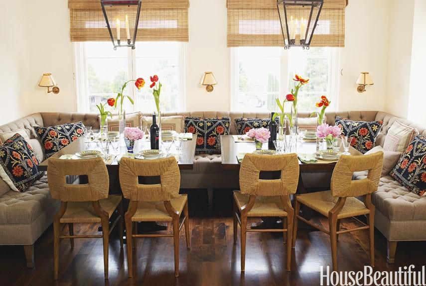 house beautiful breakfast nook