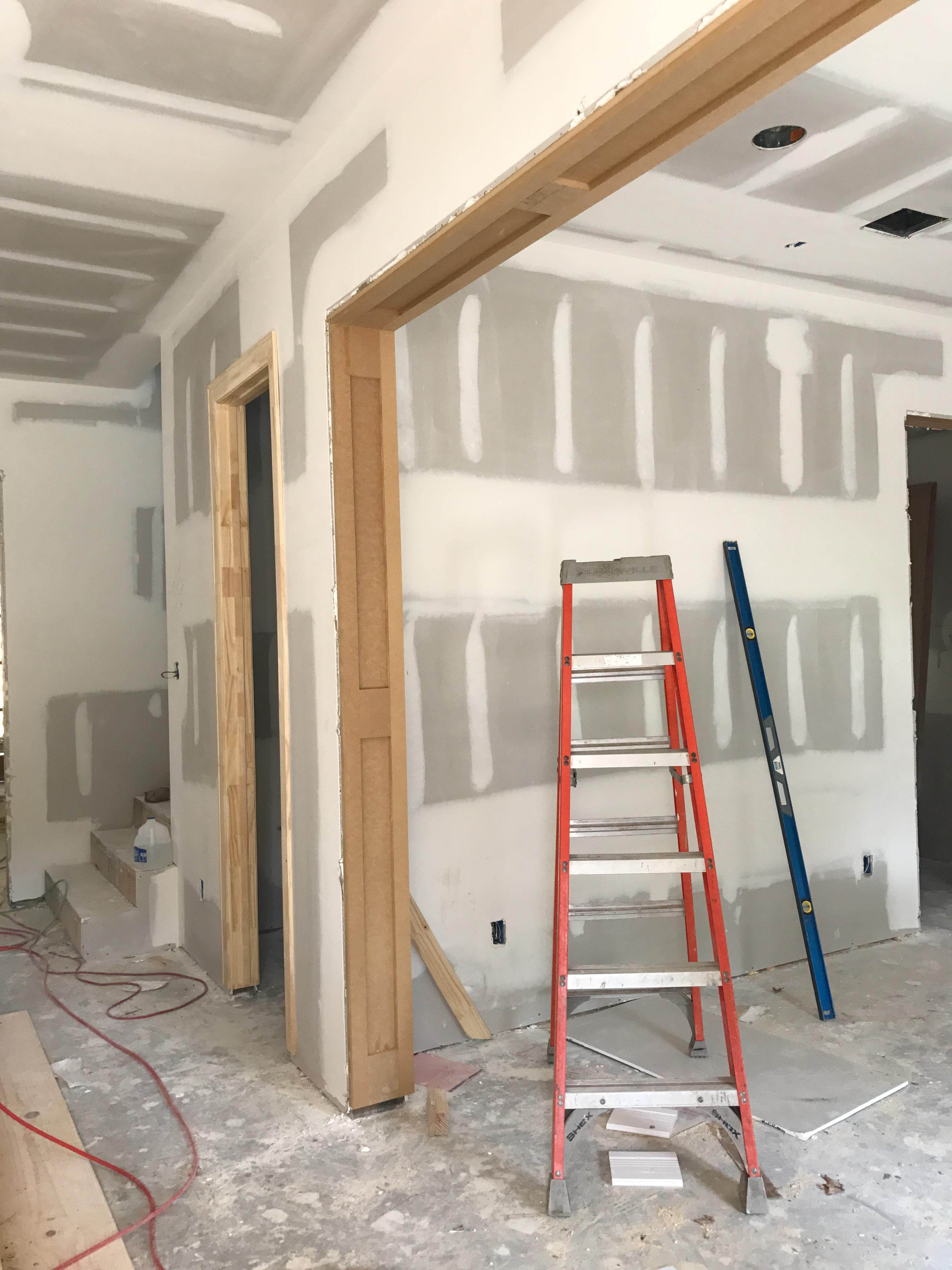 carpentry-1, Lucas Family Home